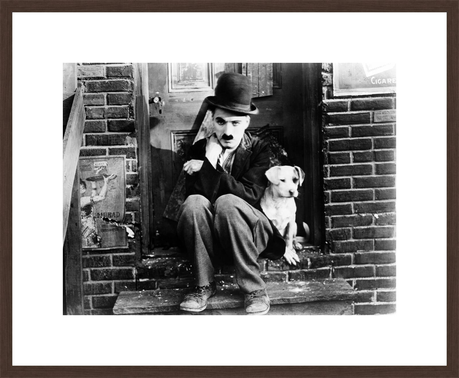 71cbf66a69247 Tramp (Charlie Chaplin) by Charles Chaplin. Buy pictures  amp  photo ...