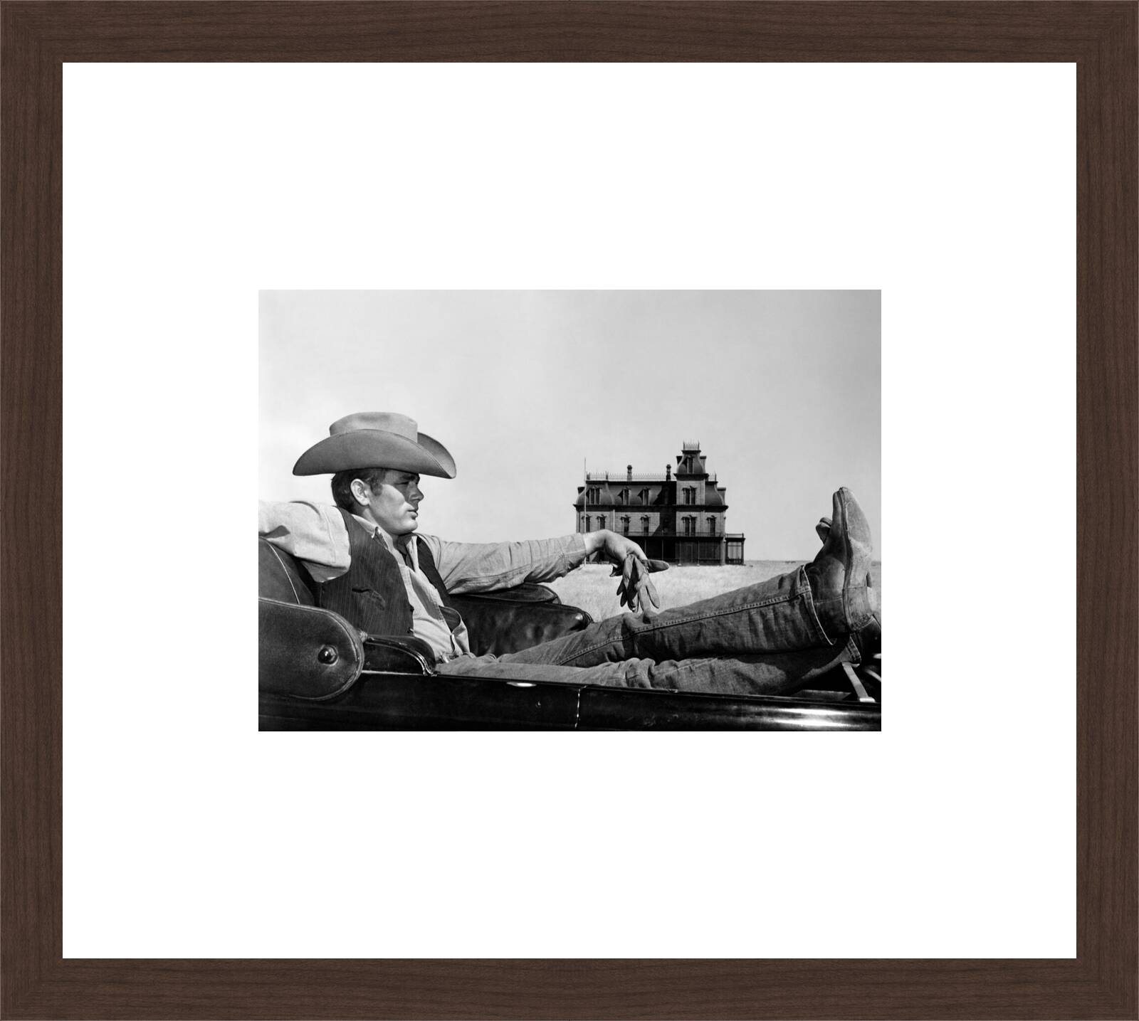 Jett Rink (James Dean) by George Stevens. Buy pictures & photo ...